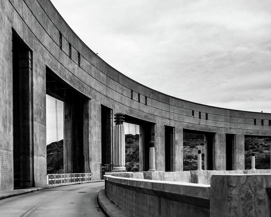 Parker Dam by Pamela S Eaton-Ford