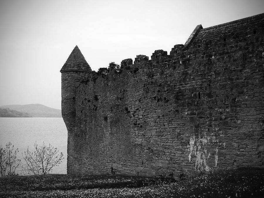 Ireland Photograph - Parkes Castle County Leitrim Ireland by Teresa Mucha