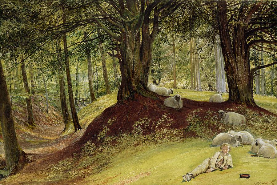 Parkhurst Painting - Parkhurst Woods by Richard Redgrave