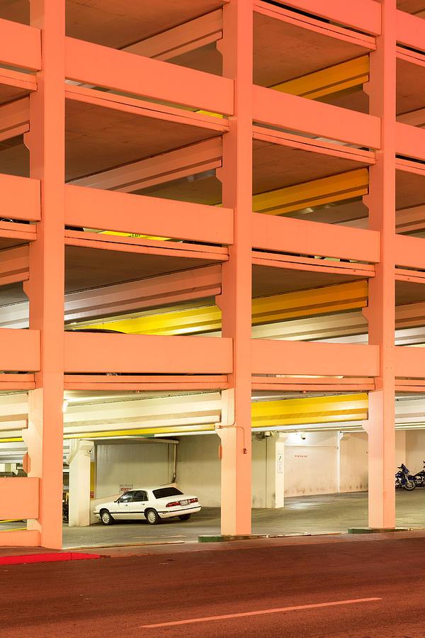 Usa Photograph - Parking by Christian Heeb