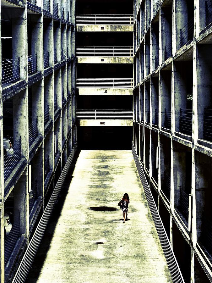 City Photograph - Parking Garage by Kelly E Schultz