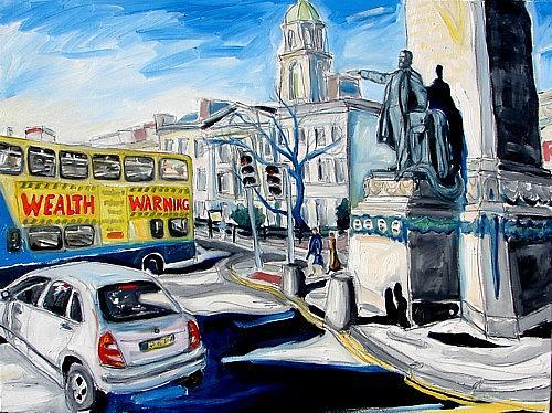 Dublin Painting - Parnells Providence by Caoimhghin OCroidheain