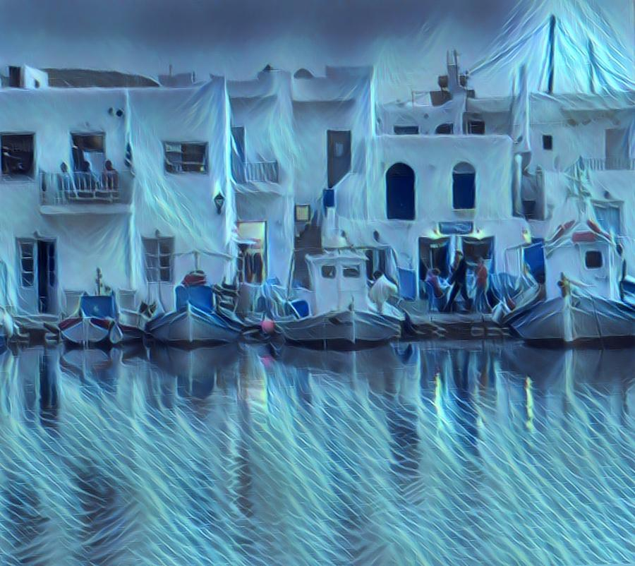 Paros Island Beauty Greece by Colette V Hera Guggenheim