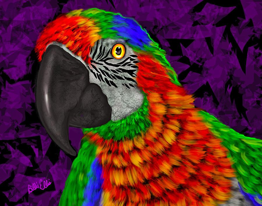 Parrot Photograph - Parrot Electric by Billie Jo Ellis