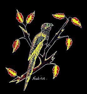 Parrot Parody Mixed Media by Nadine  Estes