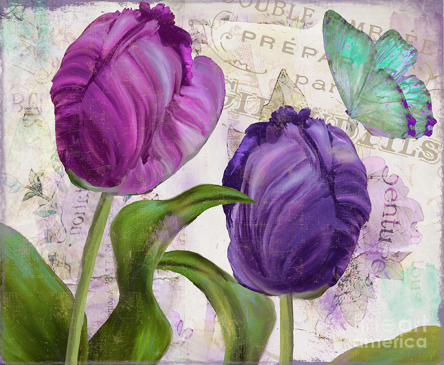Parrot Tulips by Mindy Sommers