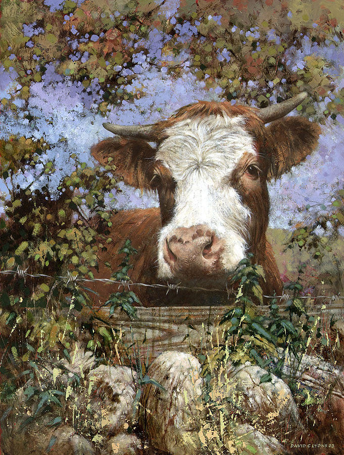 Hereford Painting - Parsley by David Lyons