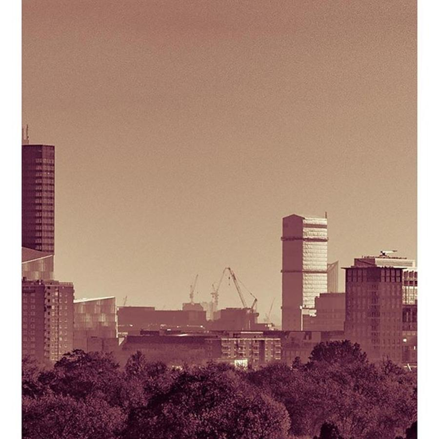 Outdoor Photograph - Part 2/3 Of My London Skyline Panorama by Daniel Precht Photography