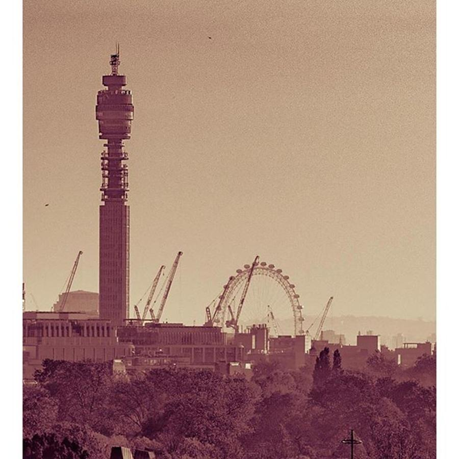 Outdoor Photograph - Part 3/3 Of My London Skyline Panorama by Daniel Precht Photography