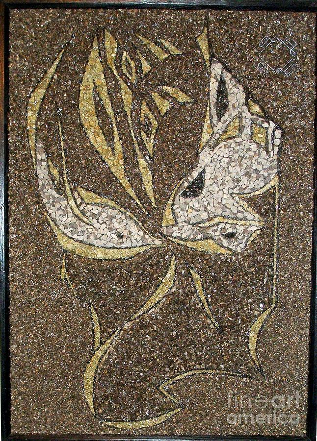 Stone Relief - part four The eyes of reminiscence by Boyka Zaharieva