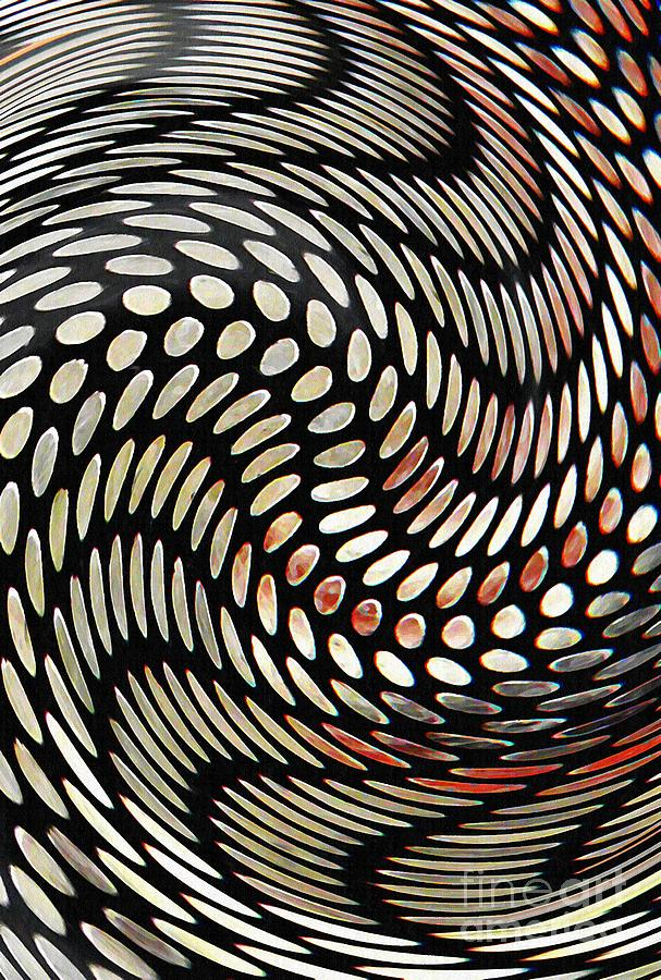 Digital Digital Art - Particles In Curved Space by Sarah Loft