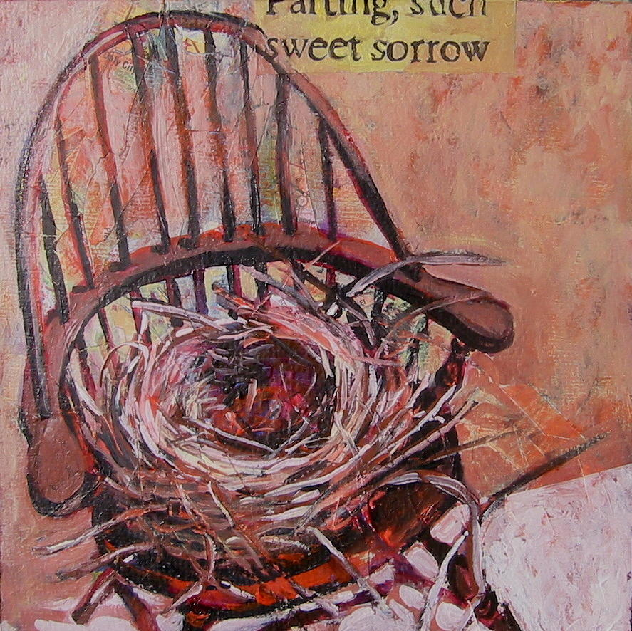 Still Life Painting - Parting Is Such Sweet Sorrow by Tilly Strauss