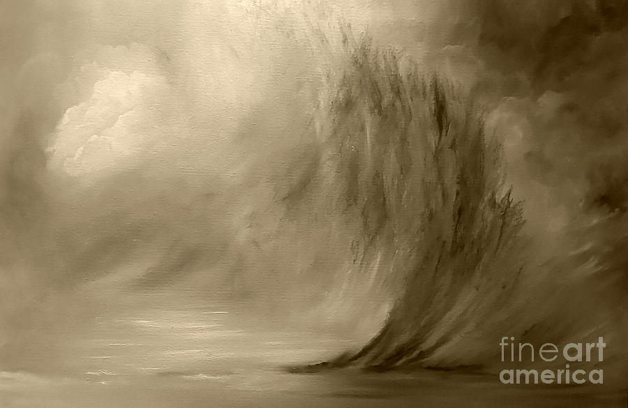 Parting Of The Wave Painting