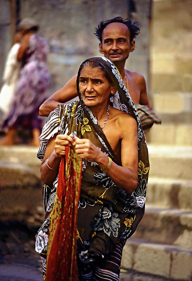 Varanasi Photograph - Partners by Steve Harrington