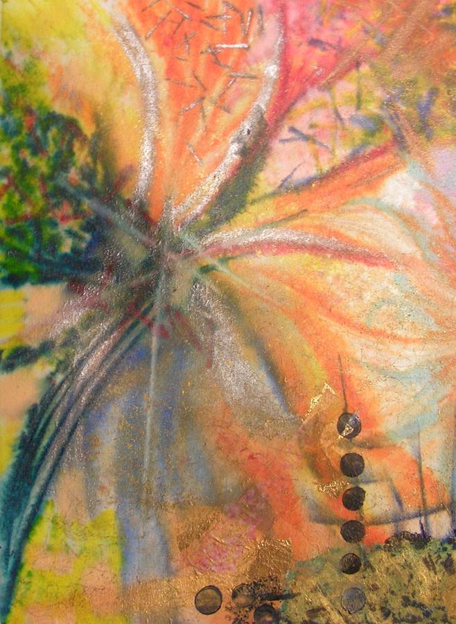Encaustic Painting - Party by John Vandebrooke