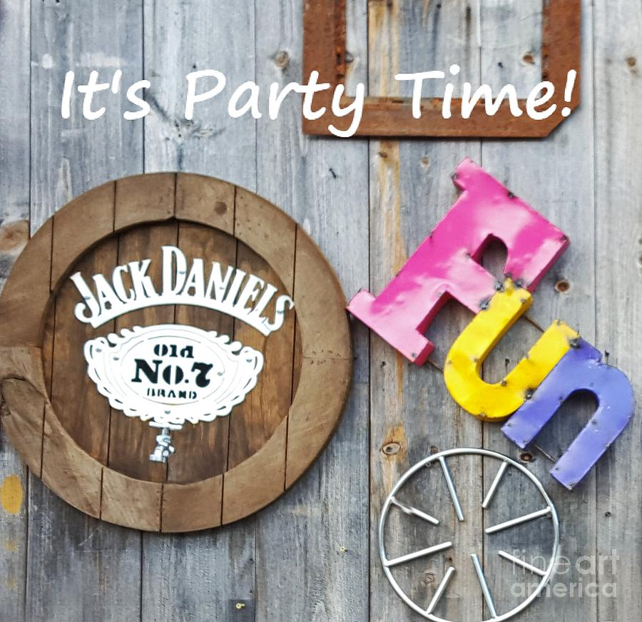 Pary Time With Jack Photograph