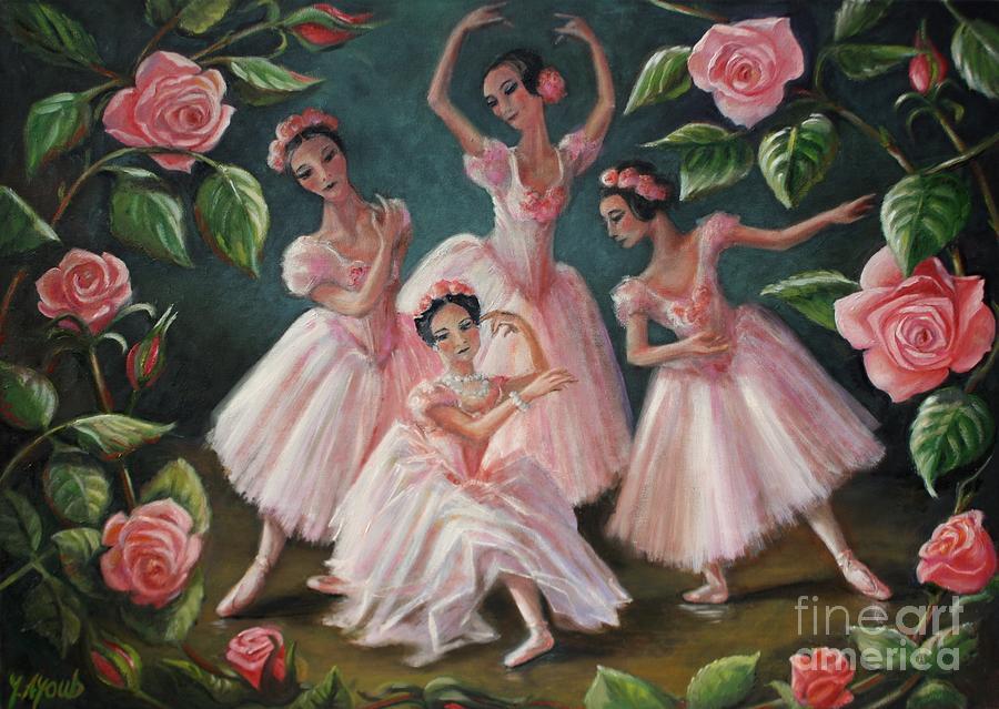 Pas de Quatre by Yvonne Ayoub