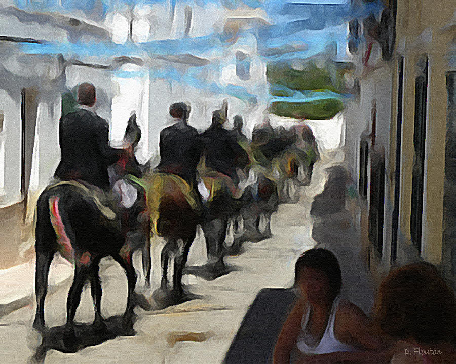 Parade Photograph - Paseo by Dee Flouton