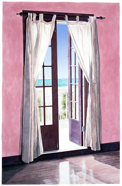 Tropical Painting - Pass-a-grille by John Canning