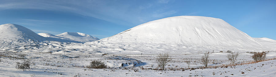 Mountains Photograph - Pass Of Drumochter  by Grant Glendinning