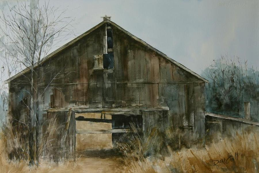 Watercolor Painting - Pass Through by Don Cull