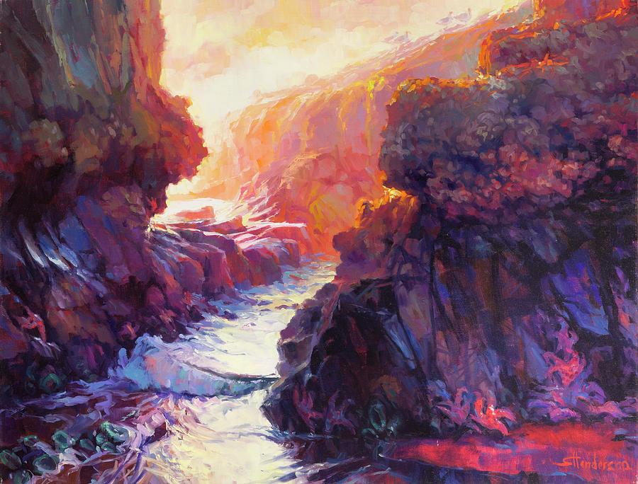 Ocean Painting - Passage by Steve Henderson