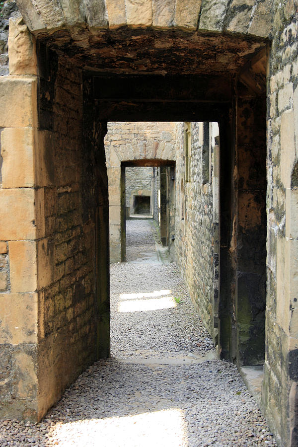 Castle Photograph - Passages by Cathy Weaver
