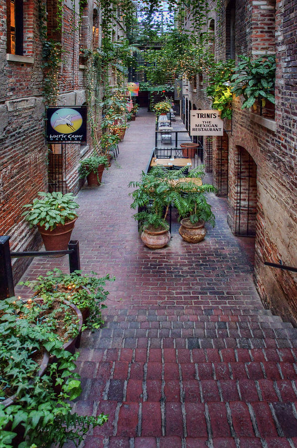 Passageway Old Market Omaha