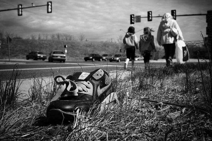 Shoe Photograph - Passed by Kevin Brett