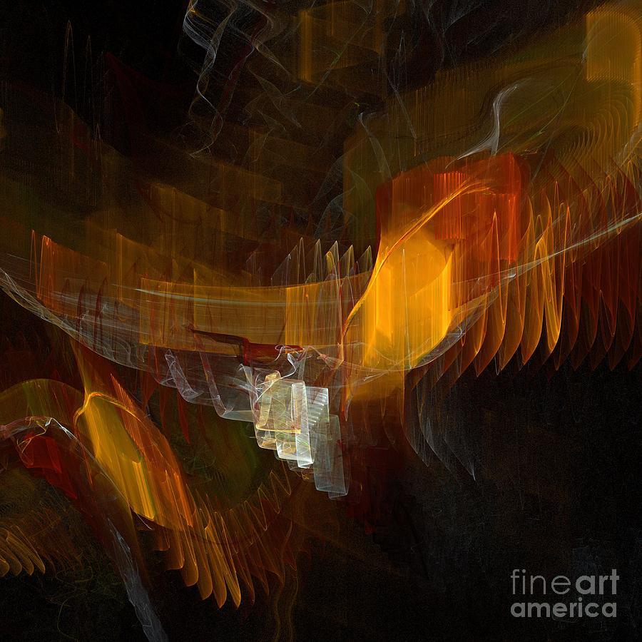 Square Digital Art - Passenger by Flavio Coelho