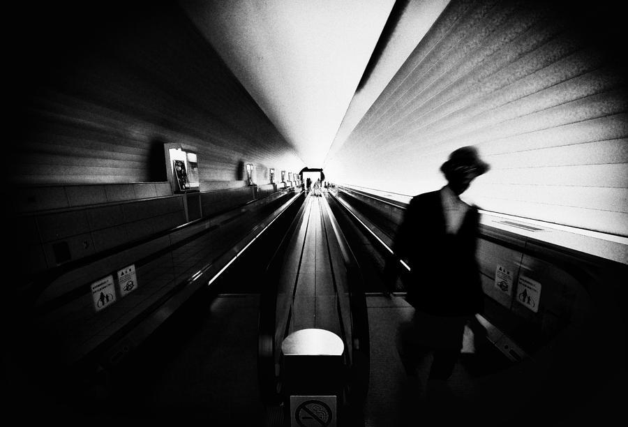 Vanishing Point Photograph - Passing By... by Tomoyuki Tanida