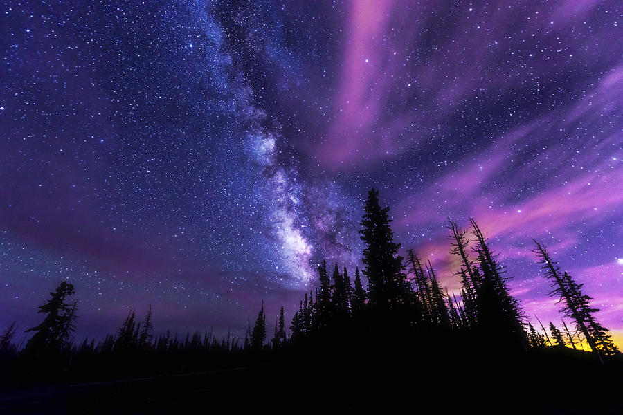 Astronomy Photograph - Passing Hours by Chad Dutson