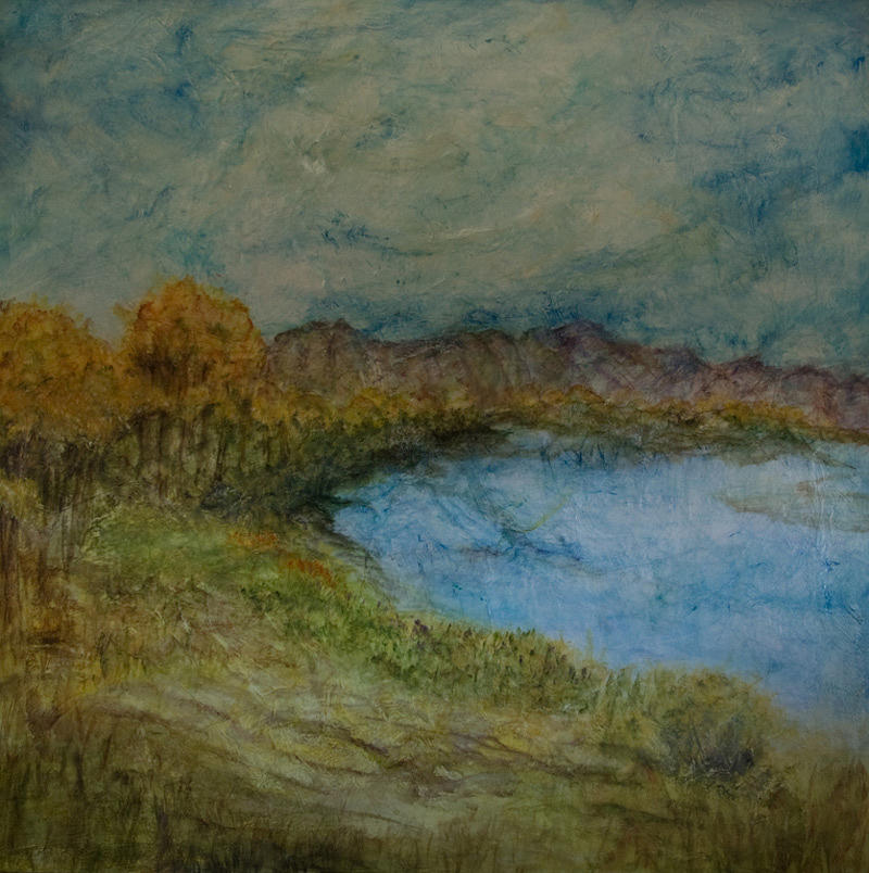 Landscapes Painting - Passing Of Dreams by Denise Williams