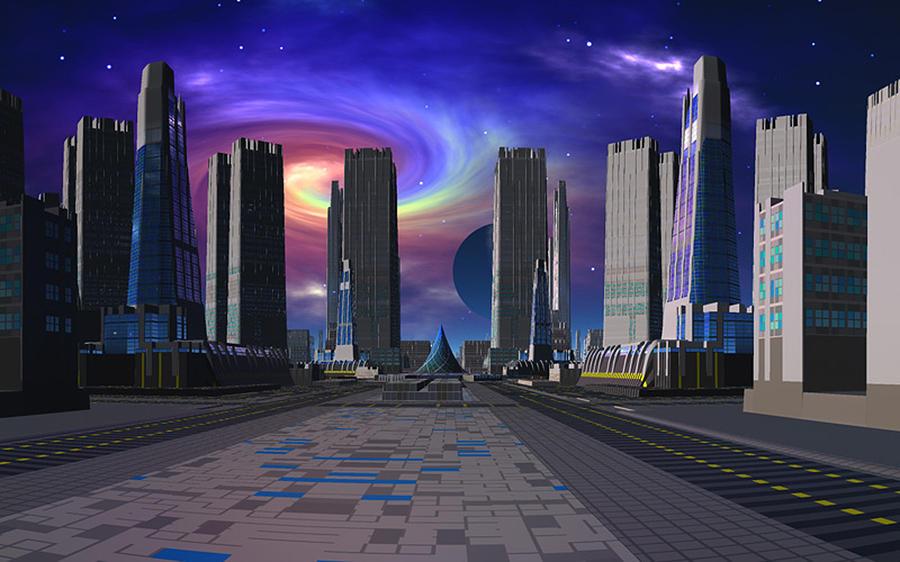 Passing Of The Dark Star Digital Art by David Jackson
