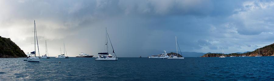 Bay Photograph - Passing Storm by Adam Romanowicz