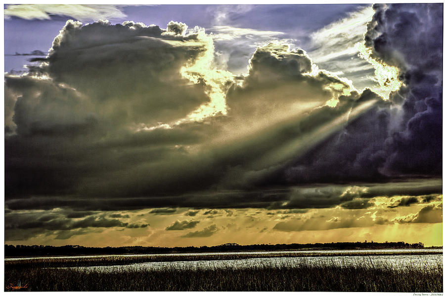 Lake Kissimmee Photograph - Passing Storm by Rogermike Wilson