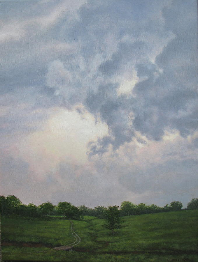 Landscape Painting - Passing Storm by Stephen Howell
