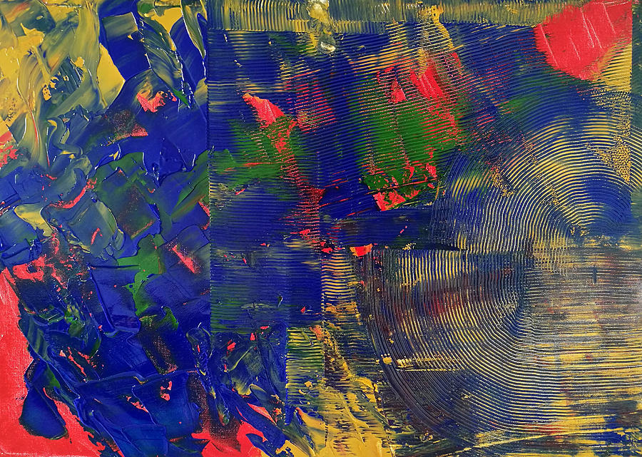 Original Painting - Passing Time by Yueer Xu
