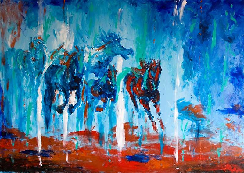 Passion Painting by Amna Shahid