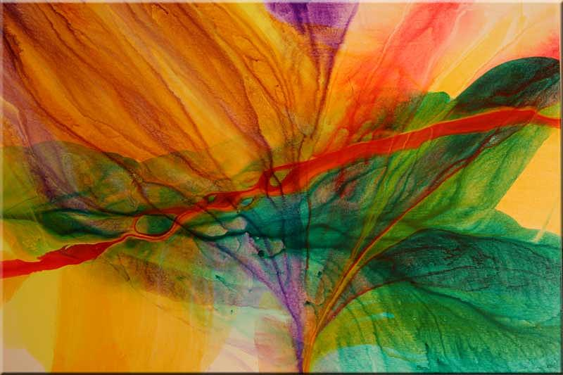 Abstract Painting - Passion by Andy Morris