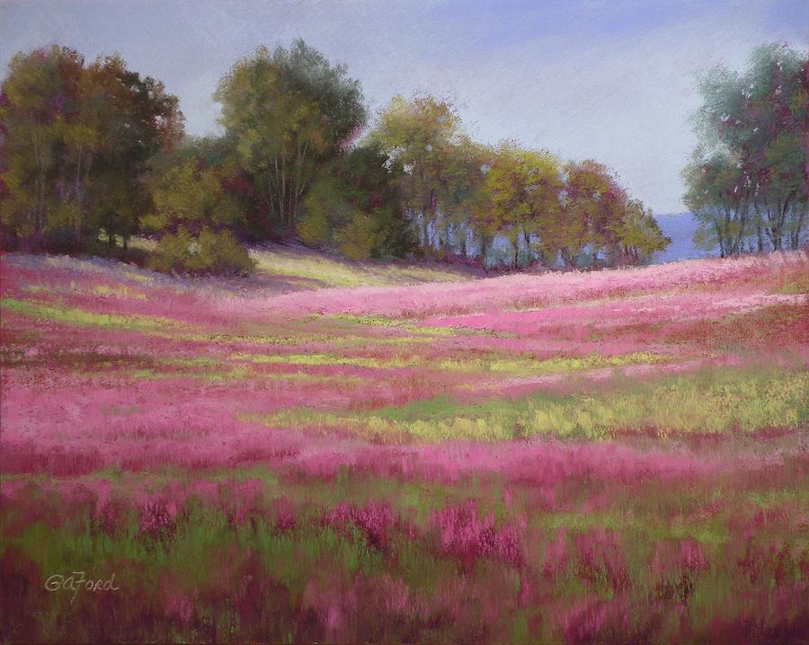 Pastel Painting - Passion Field by Paula Ann Ford