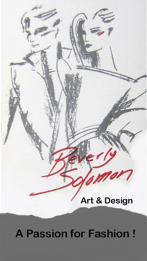 Fashion Digital Art - Passion for Fashion by Beverly Solomon Design