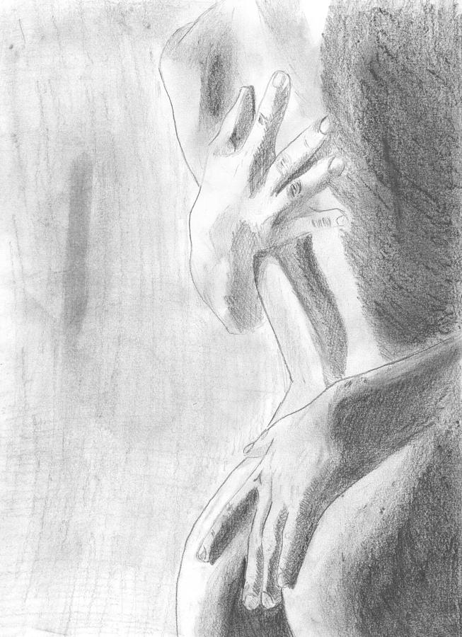 Passion Drawing - Passion by Kristina Mladenova