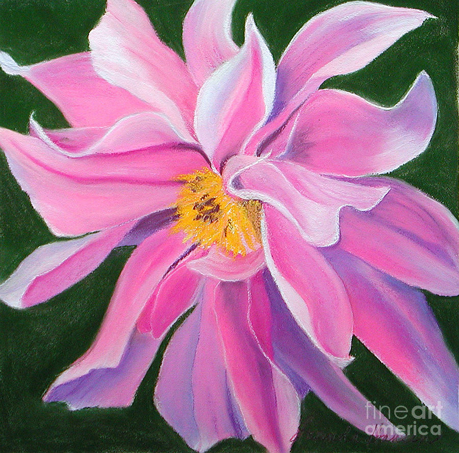 Flower Painting - Passion by Lucinda  Hansen