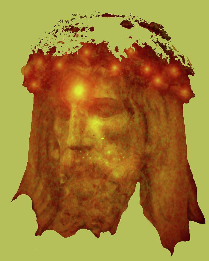 Catholic Spirituality Mixed Media - Passion No. 01 by Ramon Labusch
