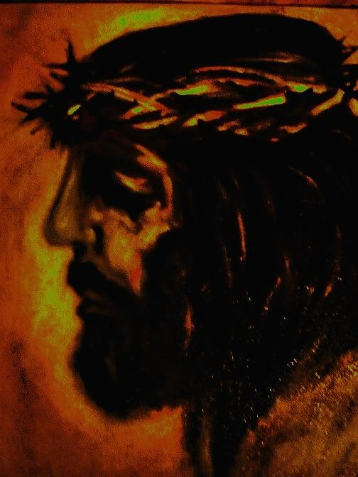 Passion Of The Christ Painting by Nick Stevens