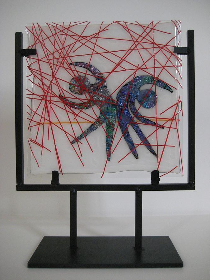 Passion Glass Art - Passion Rain by Mark Lubich