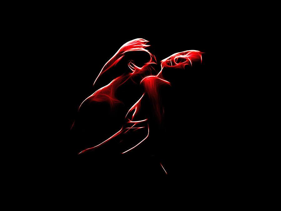 Passion Digital Art by Steve K
