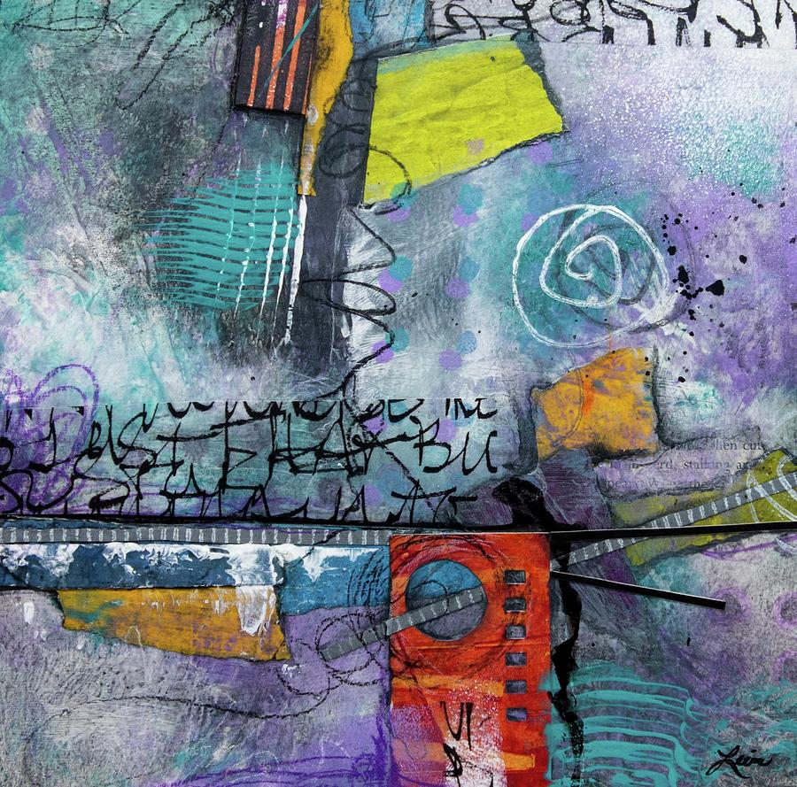Collage Mixed Media - Passionate Time  by Laura Lein-Svencner