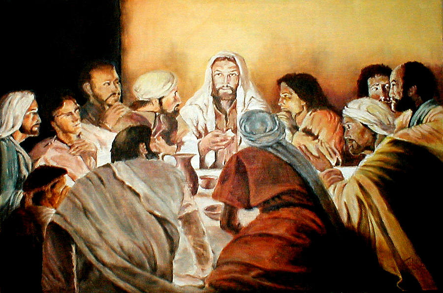 Christ Painting - Passover by G Cuffia
